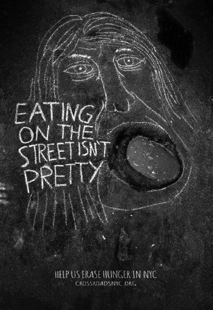'Eating on the Street Isn't Pretty'